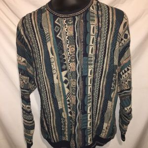 Croft And Barrow Textured Mens Sweater Size Large